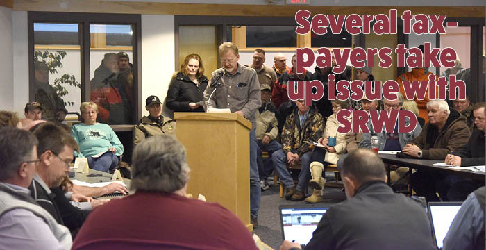Several taxpayers take up issue with SRWD