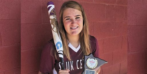 Olson earns all-state honors in softball