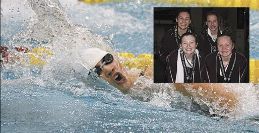 Swimmers place well at state meet Saturday
